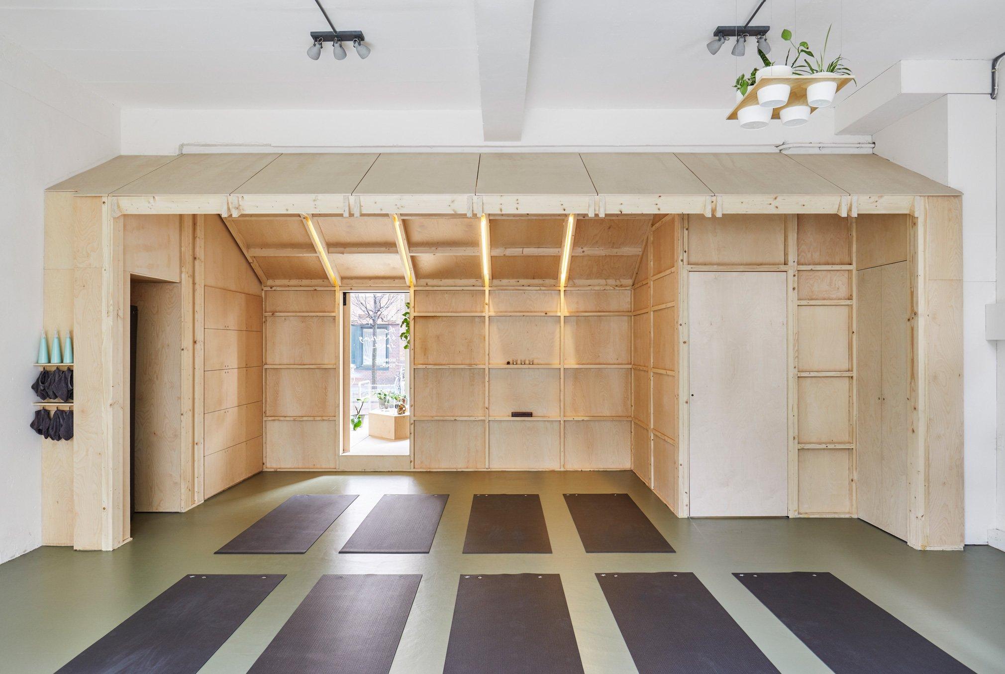 The Breathing Space Yoga Studio Simon Bush King Architecture